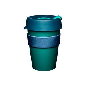Zeleno-modrý cestovní hrnek s víčkem KeepCup Polaris,340ml
