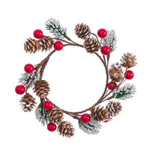 Závěsný vánoční věnec Unimasa Velón, ø 15 cm