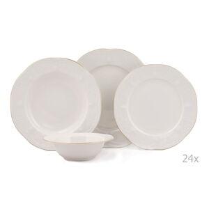 24dílná sada porcelánového nádobí Kutahya Fabulous