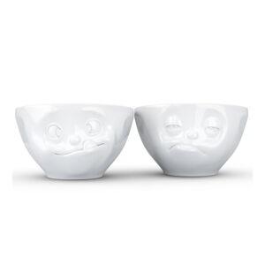 Sada 2 bílých mlsných misek z porcelánu 58products, objem 200 ml