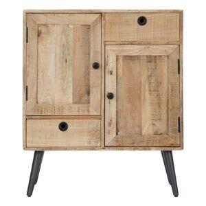 Skříňka z mangového dřeva Mauro Ferretti Belgrado, šířka75cm