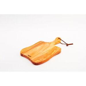Prkénko z olivového dřeva Bisetti Olive,34x19cm