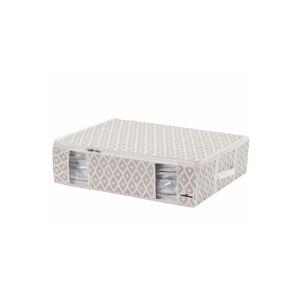 Béžový vakuový úložný box na oblečení Compactor Signature Daman 3D Vacuum Bag, 65 x 15,5 cm