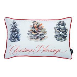 Povlak na polštář s vánočním motivem Mike&Co.NEWYORK Honey Christmas Blessings, 30 x 51 cm