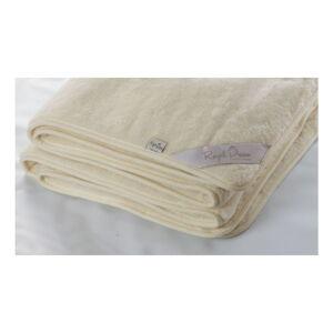 Béžová deka z merino vlny Royal Dream Quilt,140x200cm