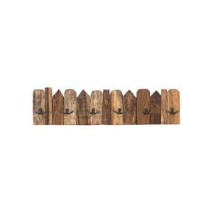 Dřevěný nástěnný věšák WOOX LIVING Nordic, délka70cm