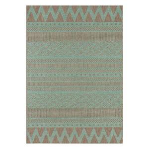 Zeleno-béžový venkovní koberec Bougari Sidon, 200 x 290 cm