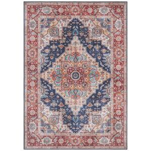 Tmavě modro-červený koberec Nouristan Sylla, 160 x 230 cm