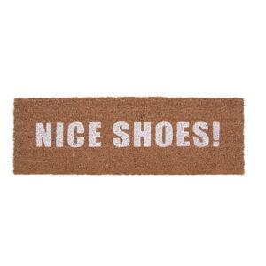 Hnědá rohožka PT LIVING Nice Shoes White