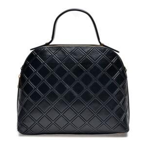 Černá kožená kabelka Mangotti Bags